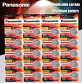Panasonic Высокое качество литиевая батарея 20 шт./лот 3V li-ion cr2016 Кнопка батарея часы монета батареи cr 2016 DL2016 ECR2016 GPCR