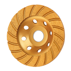 Image 2 - Kseibi 다이아몬드 그라인딩 휠 앵글 그라인더 휠 커팅 컵 휠 톱 블레이드 105/115/125/180mm 시멘트 콘크리트 타일 그라인더