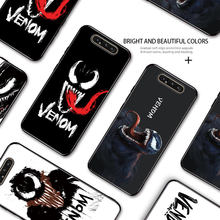 For Samsung Galaxy A60 A70 A70S A80 A90 5G Marvel Avenger Venom Rubber Painting Casing Soft Silicone TPU Cover Phone Case(China)