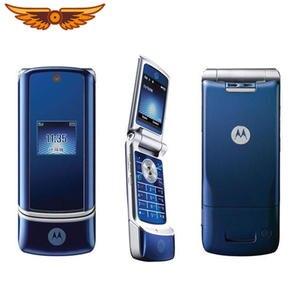 Motorola K1 100%Original Krzr GSM 2MP Refurbished Mobile-Phone 2mp-Camera Flip Unlocked