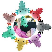 20cm Axolotl pluszowe zabawki Kawaii zwierząt Axolotl pluszaki figurka lalka zabawka Cartoon różowy Axolotl wypchana lalka tanie tanio CN (pochodzenie) Tv movie postaci MATERNITY W wieku 0-6m 7-12m 13-24m 25-36m 4-6y 7-12y 12 + y 18 + Genius Lalka pluszowa nano