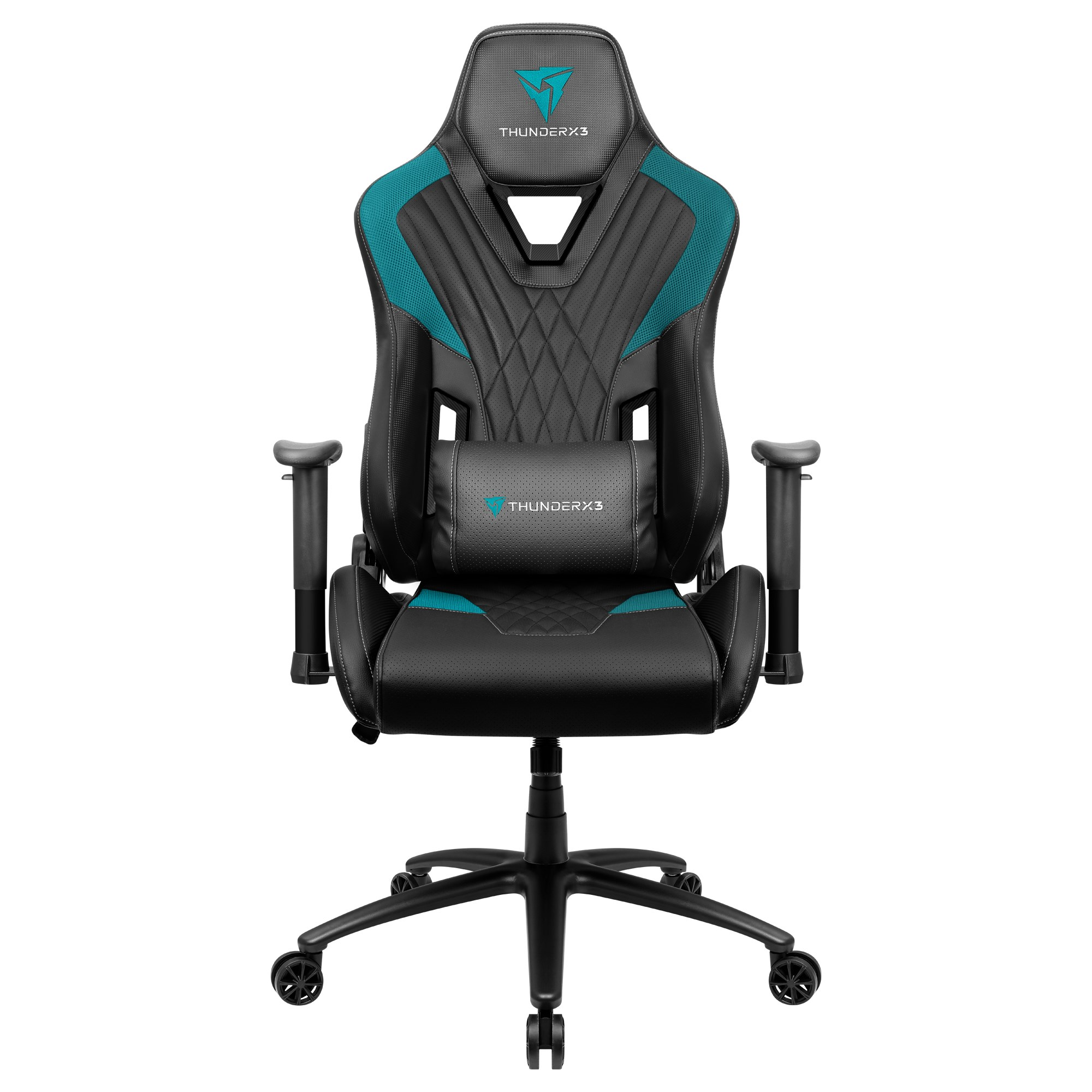 ThunderX3 DC3, Gaming Chair, Technology AIR, Breathable And Adjustable, Cyan
