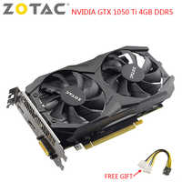 ZOTAC NVIDIA GTX 1050 Ti Graphics Card Gaming PC Video Card GeForce GTX 1050 Ti 4GB DDR5 128-Bit Used Gaming Video Cards