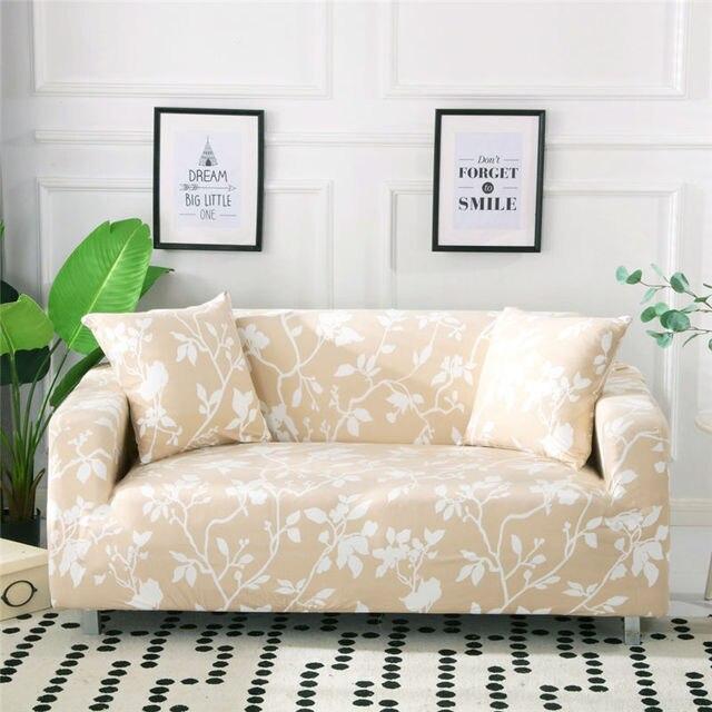 стрейч с цветочным принтом чехлы для диванов эластичные мебель фотография