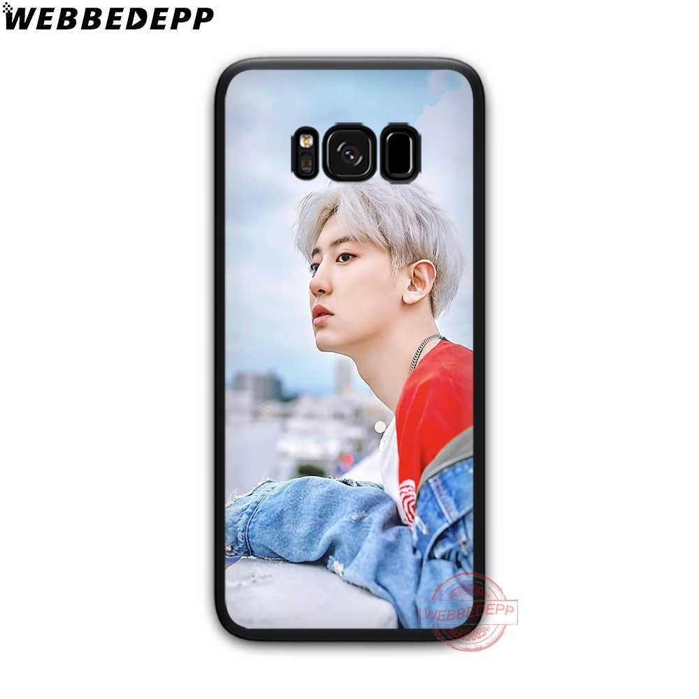 WEBBEDEPP SEHUN CHANYEOL EXO Soft Phone Case for Samsung S6 S7 Edge S8 S9 S10 Plus J4 J6 J7 J8 Note8 9 10