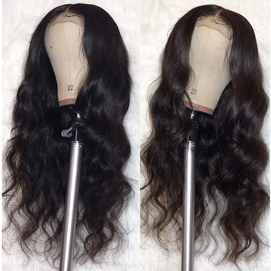 Lace Front Human Hair Wigs Body Wave 8-26 Inch 150% Brazilian Remy Hair Lace Front Wigs Free Part Pre Plucked Hairline Baby Hair
