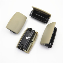 4Pcs 8E0857961 Beige Interior Under Armrest Box Rear Ashtray with Cover For A4 B6 B7 2002 2003 2004 2005 2006 2007 2008
