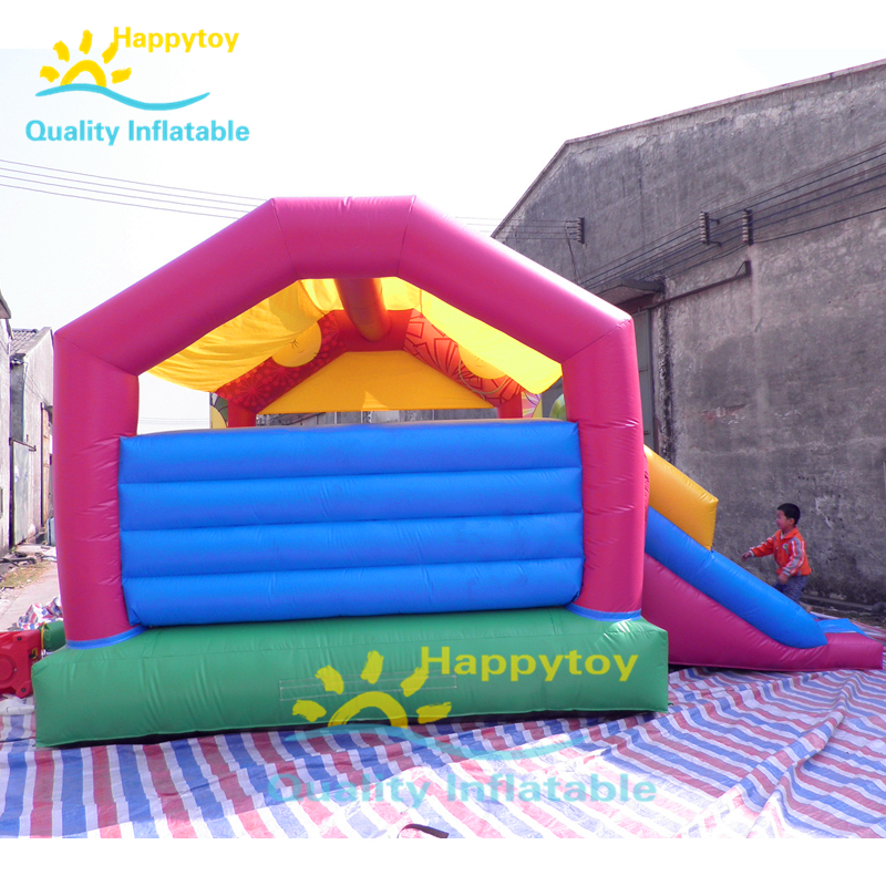 Crazy And Excited Air Bounce House Castles Combo Castle Inflatable Bouncer Commercial Bouncing Unicorn Bouncy Castle With Slide