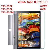 Tempered Glass For Lenovo YOGA Tab 3 8.0 10 10.1 X50F X50M Plus Pro X90F YT3 850F YT3-850F X703F Tablet Screen Protector Film tempered glass for lenovo yoga tab3 plus 10 1 yt x703 yoga tab 3 pro 10 x90 x90f x90l yt x703l x703f 10 1 inch 9h glass film