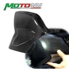 % 100% gerçek karbon Fiber salıncak kol kapağı salınım kolu koruma parlak dimi örgü Ducati Panigale V4 2018 2019