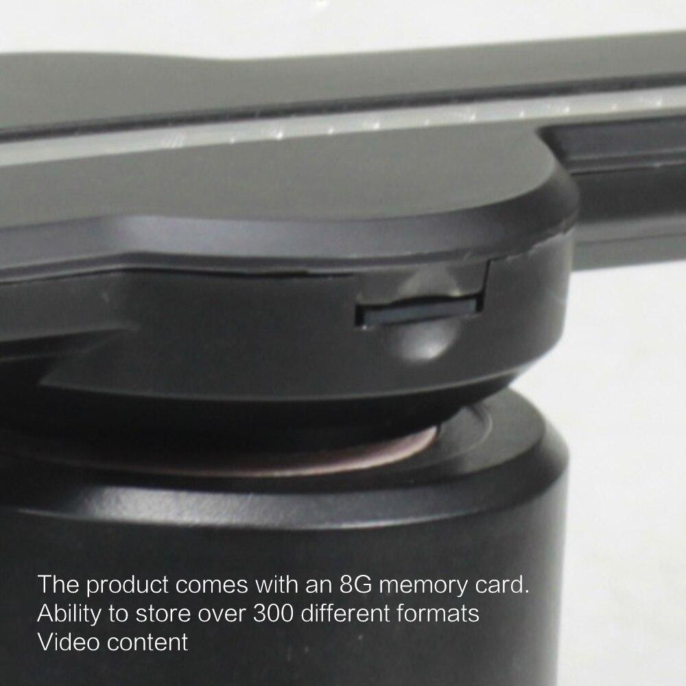3D hologramme affichage projecteur ventilateur nouveau 3D hologramme projecteur ventilateur holographique magasin Logo Wifi 224 LEDs Kit drôle - 4