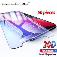 شاشة زجاج واقي ل فون 11 برو 2019 HD المقسى واقٍ زجاجي غطاء على أبل فون 11pro ماكس Xir Xr حماية الزجاج