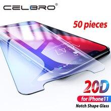 Verre de protection décran pour Iphone 11 Pro 2019 HD verre trempé couvercle de protection sur Apple Iphone 11pro Max Xir Xr verre de protection