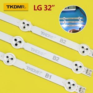"""630mm LED Backlight strip for LG 32""""TV 32LN5100 32LN520B 6916L-1106A 6916L-1105A 6916L-1204A 32ln570V 32LN545B 32LN5180 6916L(China)"""
