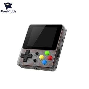 Image 4 - Powkiddy Q13 LDK 88FC el Video oyunu konsolu dahili 188 8 Bit FC oyunları 2.4 inç IPS ekran çocuk hediye destek TV