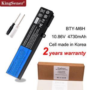 Bateria Do Portátil Para MSI BTY-M6H KingSener GE70 GP72MVR GL62VR GL62M GL72 GE72VR MS-16J3 MS-16J4 MS-16J6 MS-1792 MS-1795 MS-16J5L