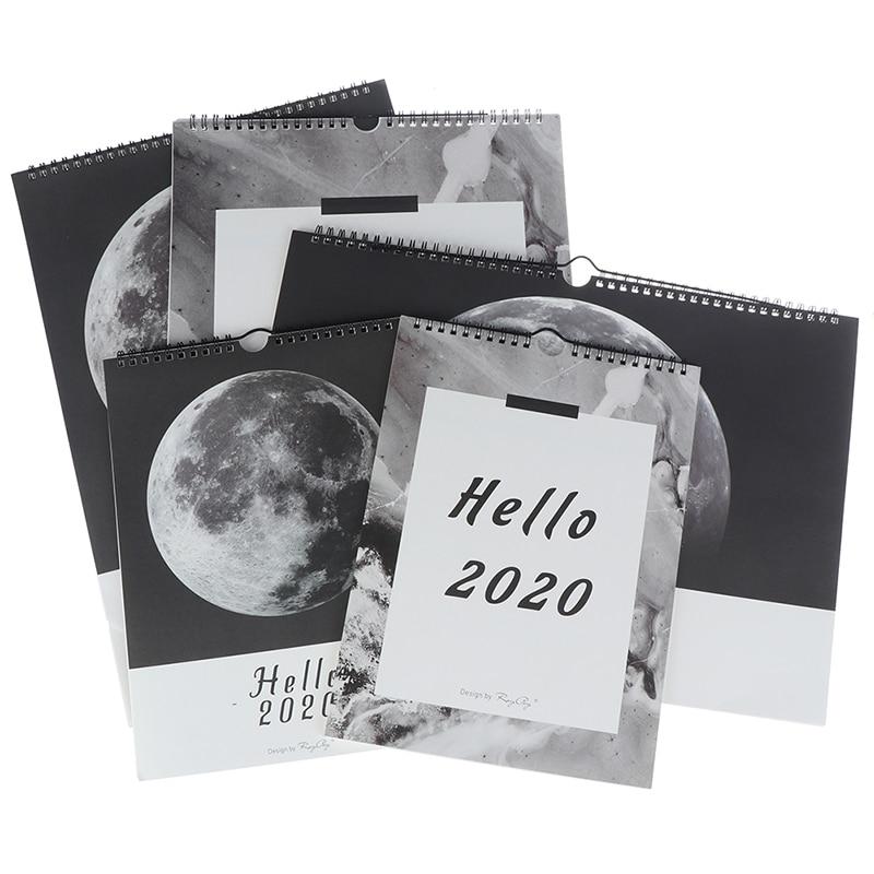 1PC Wall 2020 Calendar Agenda 365 Days Daily Planner Notes To Do List Tearable Desk Calendar Decoration Creative Calendar