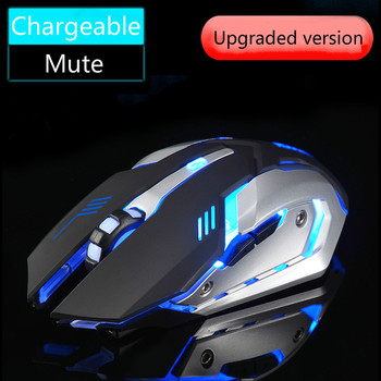 Free Wolf X7 Wireless Mouse Charging Mouse 2.4Ghz Wireless Computer Accessories Desktop Ergonomic Mouse Pratical Gaming Mouse фото