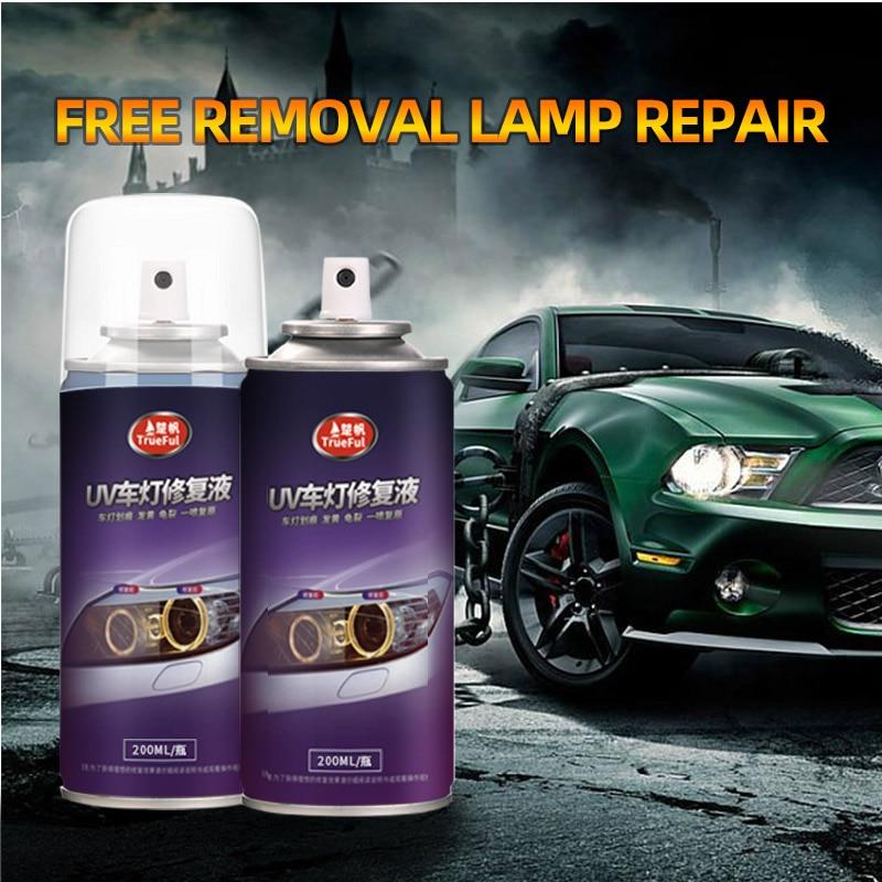 200ML Car Headlight Repair Solution Lampshade Scratches Polishing Kit Car Headlamp Repair Agent Grinding Polishing Paste Liquid