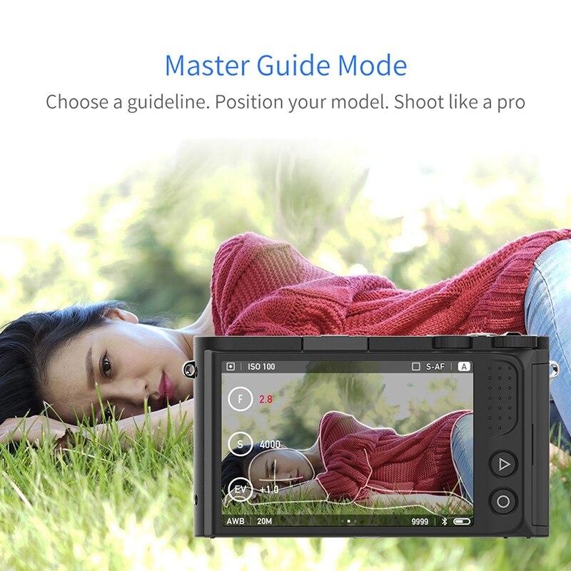 YI M1 appareil photo numérique sans miroir objectif Zoom principal LCD Version internationale minimaliste 20MP enregistreur vidéo 720RGB caméra numérique - 6