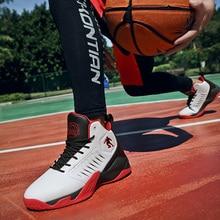 Баскетбольная спортивная обувь, мужские брендовые уличные спортивные ботинки для баскетбола, гонки, высокие баскетбольные ботинки, мужская спортивная обувь, кроссовки