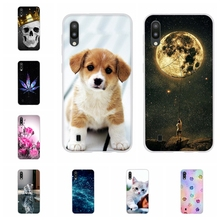 For Samsung Galaxy M10 Case Soft TPU Silicone SM-M105F Cover Cute Patterned Funda