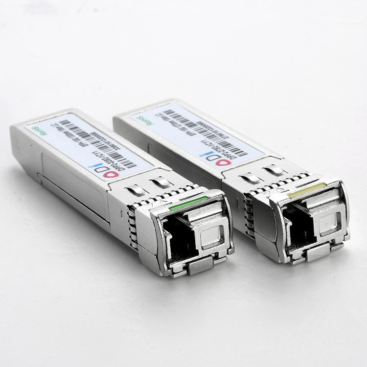 10G ER SFP+ BIDI Optical Transceiver Module LC Simplex TX1270nm RX1330nm 40km