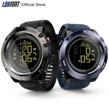 LOKMAT Smart Watch men Heart Rate Monitor Waterproof 50m Bluetooth Call Reminder Sports clock SmartWatch For ios Android phone