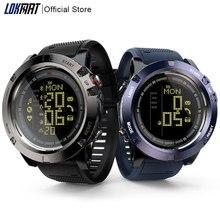 LOKMAT montre intelligente hommes moniteur de fréquence cardiaque étanche 50m Bluetooth rappel dappel sport horloge SmartWatch pour ios téléphone Android