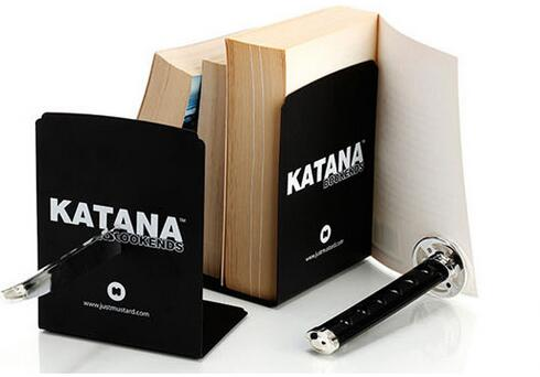 Office & School Supp. ... Desk Access. & Organizer ... 32615342674 ... 4 ... Creative Katana Bookend , Home Decorative Magnet Katana Bookends as Book Stand , Book Reading Holder ...