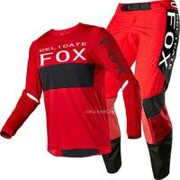2020 Racing 360 Linc Motocross MTB Bike Delicate Fox Motorbike Motorcycle Suit Moto Gear Set For Men