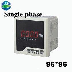 Jednofazowy cyfrowy miernik mocy miernik panelu miernik współczynnika mocy 96*96