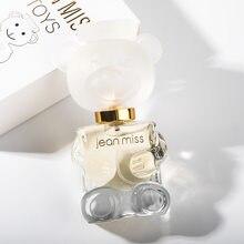 Ours en peluche pour femme, parfum, longue durée, Eau De Toilette, Design De bouteille mignon, couleur or clair, bouteille De corps