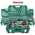 Набор инструментов для ремонта автомобиля, домашний набор инструментов для ремонта автомобиля с пластиковым ящиком для инструментов чехол...
