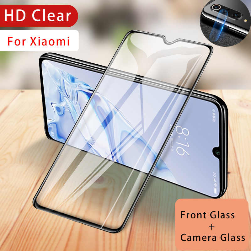 Camera Tempered Glass for Xiaomi Mi 9 9T Pro Screen Protector for Mi 8 SE Lite 9D Phone Lens Protective Glass for Mi Play F1