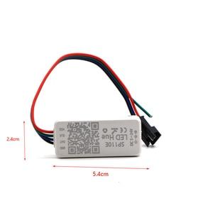 Image 4 - SP110E Bluetooth פיקסל בקר דימר עבור WS2811 WS2812B ws2812 SK6812 RGB RGBW APA102 WS2801 פיקסלים חלום צבע LED הרצועה