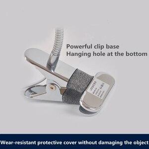 Image 5 - Lámparas LED de mesa de brazo largo, 80 LED, 8W, para lectura de escritorio, oficina, protección para los ojos, luz alimentada por USB, atenuador plegable, abrazadera de 10 niveles