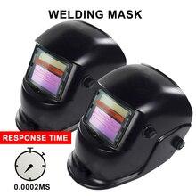 Solar Power Helm Auto Verdunkelung Schweißen Maske Schweißer Objektiv für ARC TIG MIG MAG