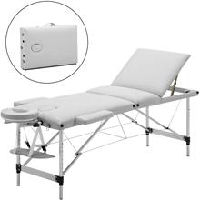 Beauty Bed Portable Massage Tables Aluminum Folding Cosmetic Bed Ergonomic Therapy Sofa Table Spa Salon Furniture