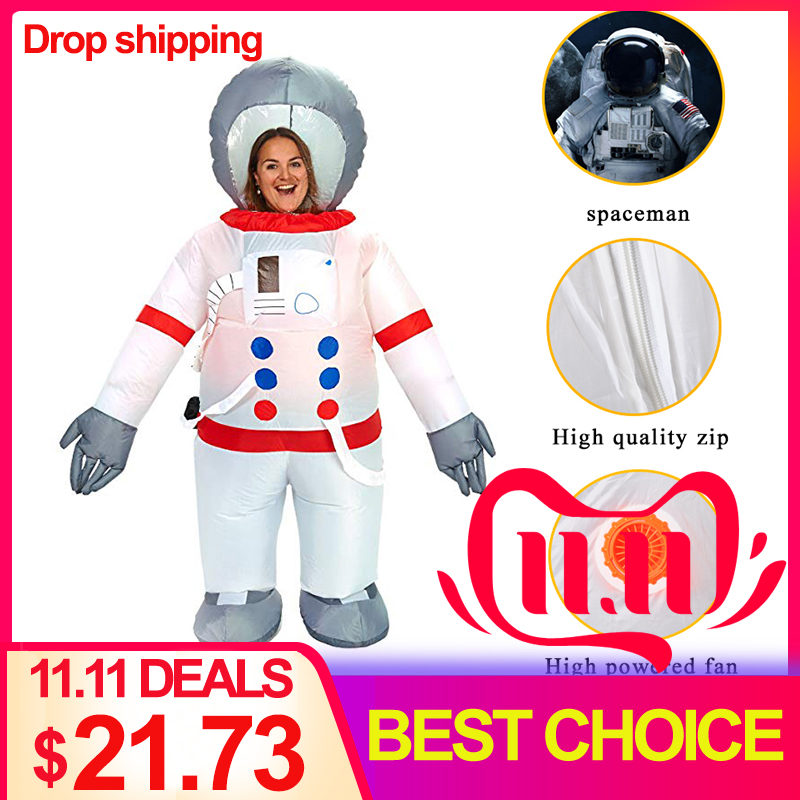 Astronaut Anime Cosplay Halloween Costumes Cosmonaut Inflatable For Adult Party Clothing Performance
