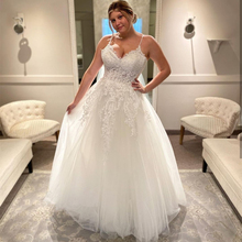 Wedding-Dress Bridal-Gowns Plus-Size Appliques Lace Custom-Made Sweetheart Floor-Length