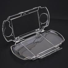 غلاف شفاف لـ PSP 2000 3000 حافظة حمل صلبة شفافة حافظة واقية من الكريستال لقوالب سوني بلاي ستيشن