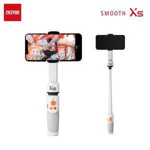 ZHIYUN Official Smooth XS Phone Gimbals Photography Sticks Selfie Stick Handheld Stabilizer Palo Smartphone For iPhone Huawei Xi