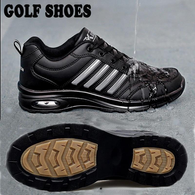 2020 New Brand Waterproof Golf Trainers Shoes Men Anti Slip Athletic Golf  Sneakers Mens Black White Lightweight Sport Sneakers|Golf Shoe| - AliExpress