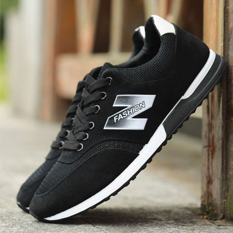 New Men Vulcanize Shoes Fashion Male Sneakers Breathable Walking Shoes Mesh Male Sneakers Soft Comfortable Men Shoes
