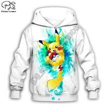 Kids Cloth Pokemon  Pikachu Cartoon 3d hoodies/tshirt/boy sweatshirt Hot Movie pant style-13