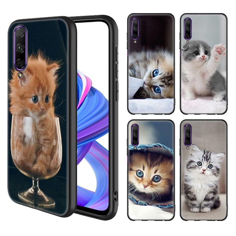 Мягкий силиконовый чехол для Honor 9S 9C 9S 8X 10i 9X 10 Lite 9X 10 20 Pro 20S 8A 2020 Prime Play, чехол для телефона с забавным котенком и котом Специальные чехлы      АлиЭкспресс