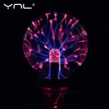 Glass Magic Plasma Ball Lamp children night light 3 5 Inch Night Lamp Kids Gift Christmas New Year Magic ball Decorative Lamp