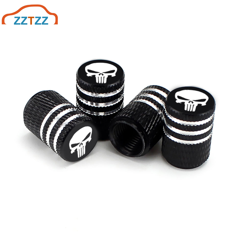 Blue Abfer Car Tire Pressure Valve Stem Caps Aluminum Alloy Air Dust Cover for Wheel Help Fit Vehicle Truck Motorcycles Bikes