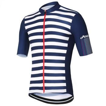 Jersey de ciclismo Retro a rayas para hombre, jersey transpirable para ciclismo...